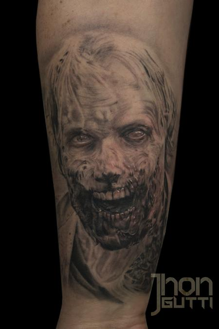 Tattoos - GREG NICOTERO ZOMBIE - 114968